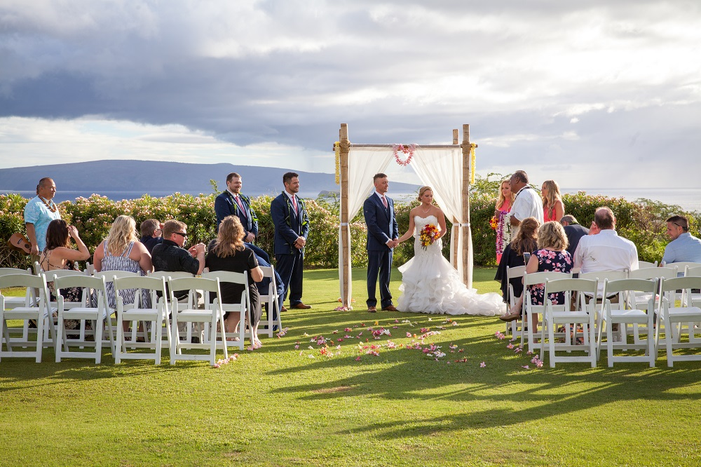 Maui wedding venues gannon 39 s wailea the mauna kai for Maui wedding locations